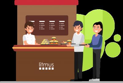 litmus cafe food service solutions