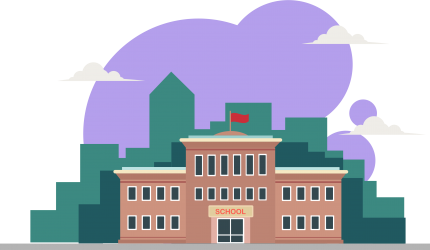Litmus State School illustration