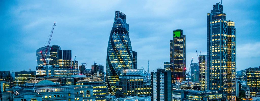 Sound Business Sector Investments London Skyline
