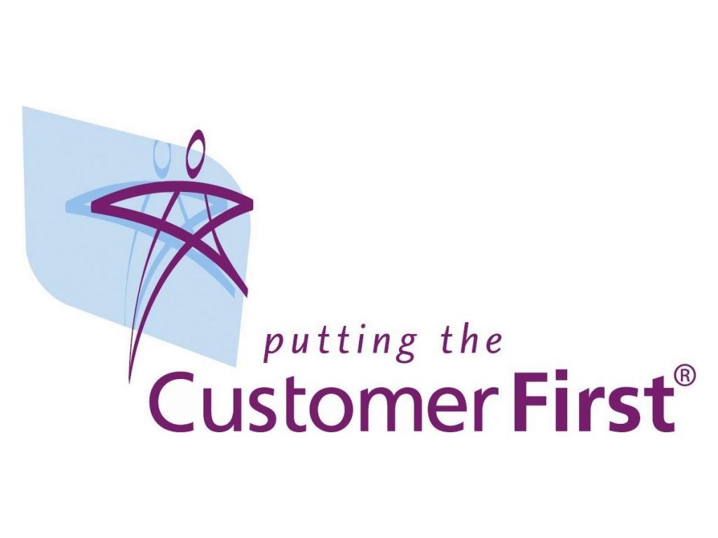 Customer First Logo R