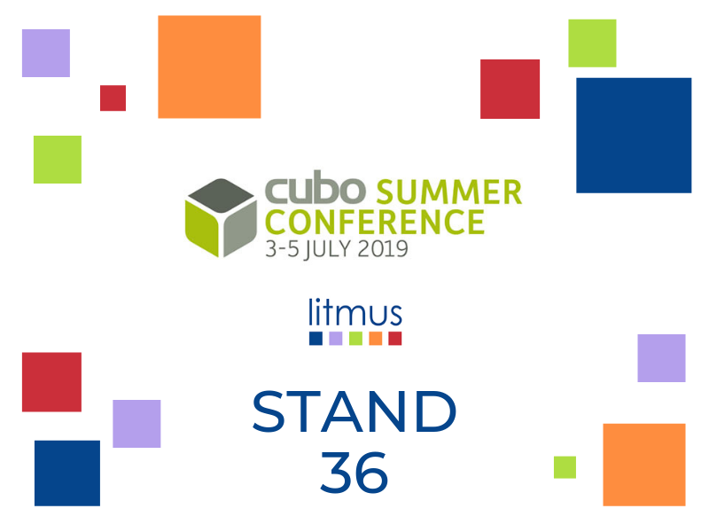 CUBO summer conference Litmus stand 36