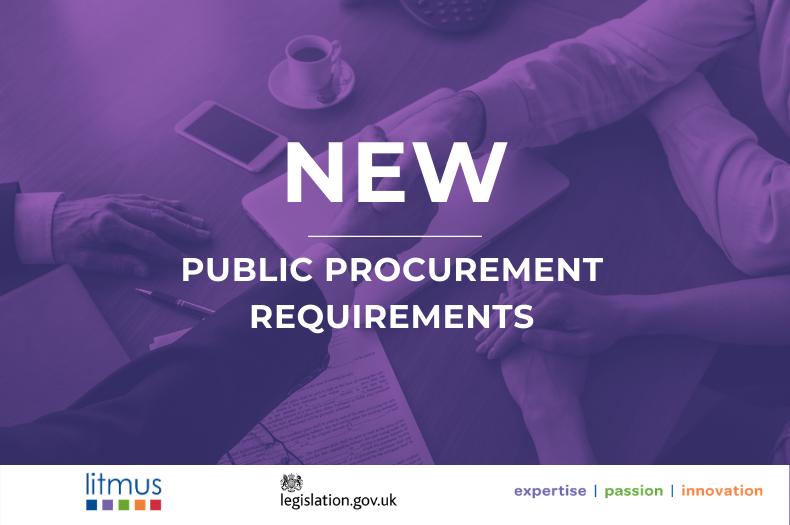 legislation procurement